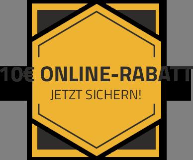 10€ Online-Rabatt