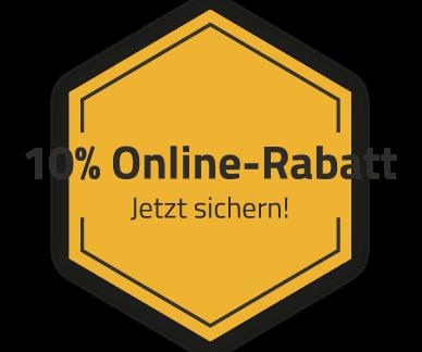 10% Online-Rabatt